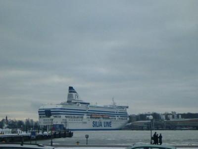 Arrival in Helsinki, Finland.