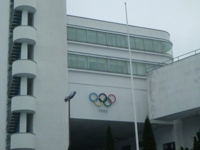 The Olympic Stadium for the Summer Olympics in Helsinki