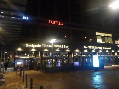 Teerenpeli Bar, Helsinki, Finland.
