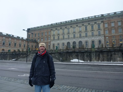 Outside the Palace