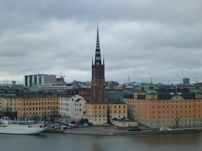 View over Stockholm from Monteluisvagen