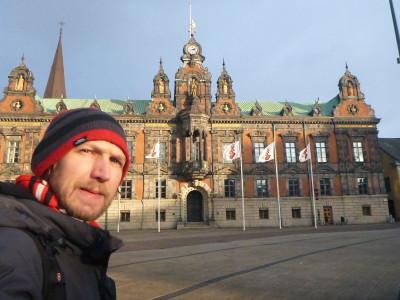 Touring Malmo - Town Hall/Rathaus.