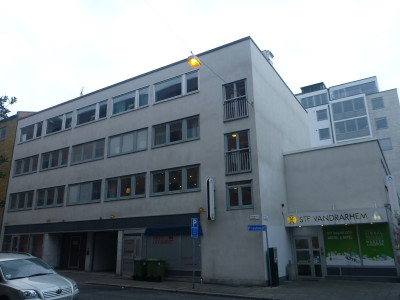 Staying at the STF Vandrarhem Hostel in Malmo, Sweden