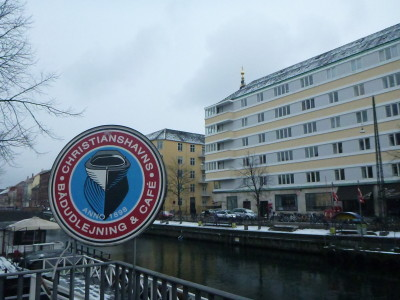 Christianshavn, the place from which you walk to the Freetown of Christiania.
