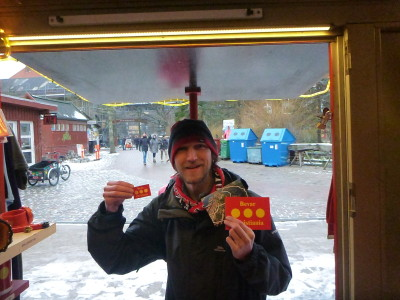 Getting some Christiania souvenirs
