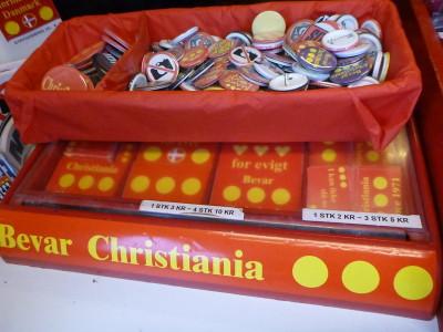 Souvenirs in Christiania.