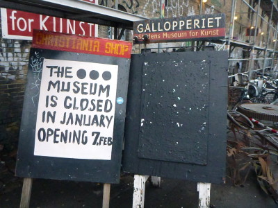 A museum and workshop in Christiania