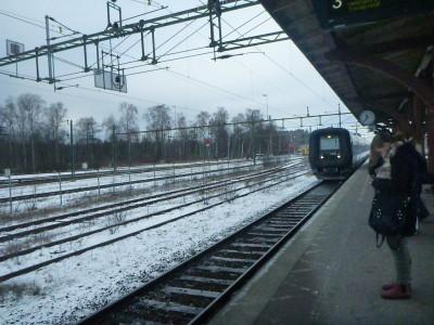 Angelholm Station, Sweden