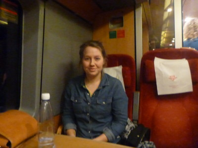 Lisa from Norway who made great company on the journey