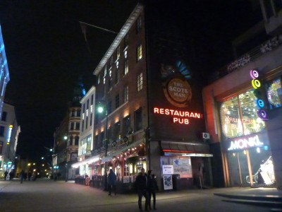 The Scotsman Pub in Oslo, Norway