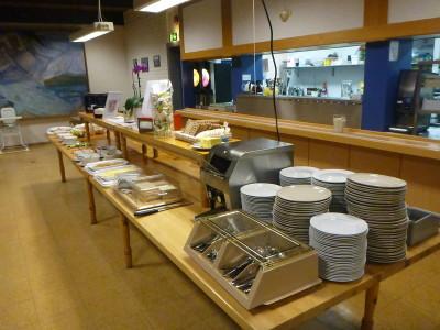 Massive buffet breakfast