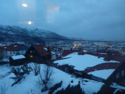 Mountain views in Bergen