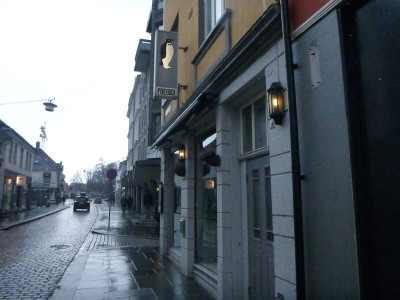 Pingvinen Restaurant and Bar in Bergen, Norway