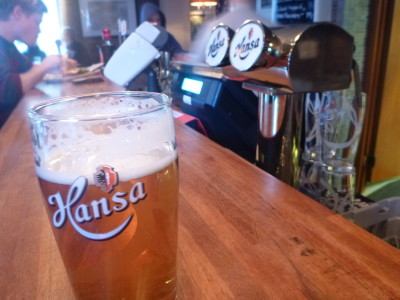 Hansa the budget option at £5.80