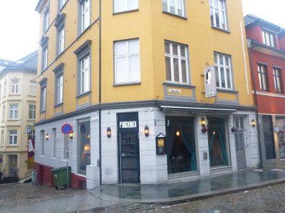 Pingvinen Restaurant in Bergen, Norway