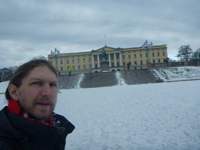 Outside the Royal Palace