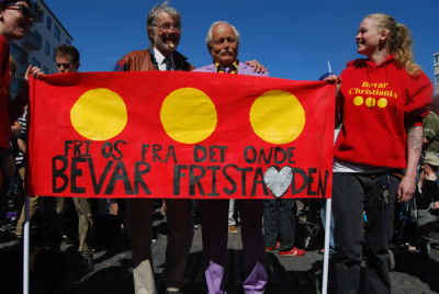 Free Christiania Free Tibet!