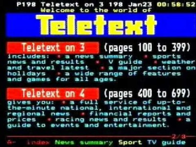 Guess the city quiz on Teletext Holidays