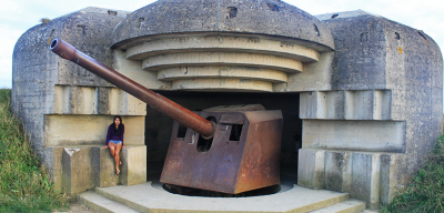World Travellers: Aileen checking out WWII spots in Normandy, France