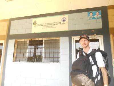 Immigration Office in Puerto Cortes, Honduras
