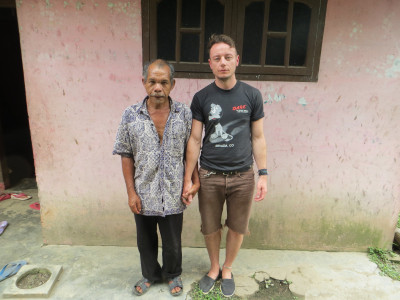 World Travellers: Justin Egli drinking with Sumatran gangsters in the jungle