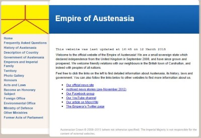 The Official Empire of Austenasia Website