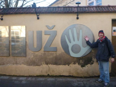 I still got to go backpacking through the Republic of Uzupis.