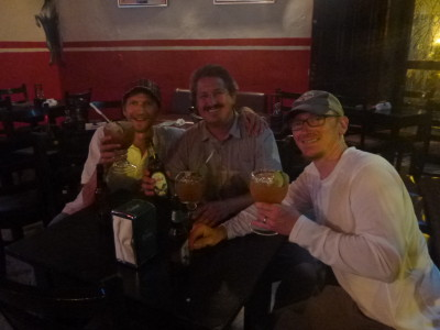 A night out with Brian and Jeremy from Wyoming in Granada.