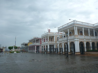 Parque Central - downtown Granada, Nicaragua