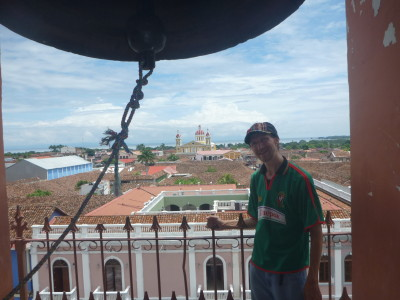 View from the Bell Tower at Iglesia de la Merced.