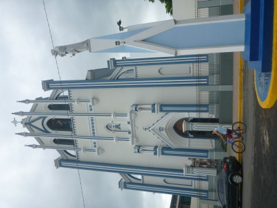 Iglesia Maria Auxiliadora - yes I've tried turning it round.