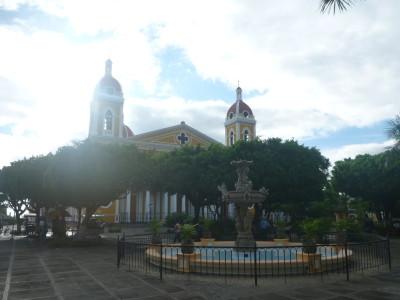 Parque Central in Granada, Nicaragua