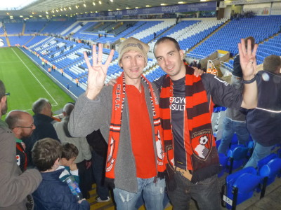 Heading to watch the Cherries again - AFC Bournemouth. I saw us beat Birmingham 8-0 earlier in the season!