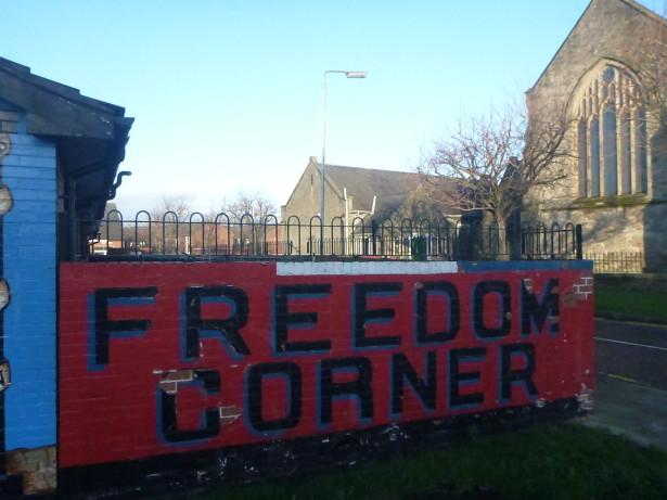 Random Rant - Immerse Yourself in Local Culture (photo - Freedom Corner, Belfast, Northern Ireland)