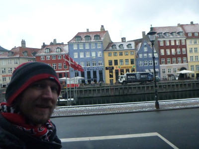 Enjoying the streets and canals of Copenhagen