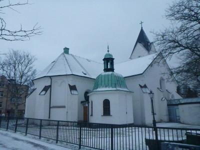Central Church in Angelholm, Sweden.