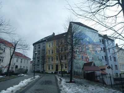 Local neighbourhood housing in Bergen