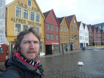 At Bryggen UNESCO World Heritage Site