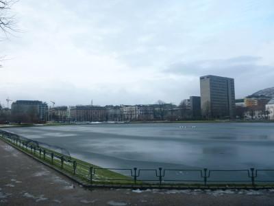 Lille Lungegardsvatnet (Frozen Pond)