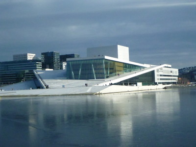 The fantastic Norwegian Ballet and Opera building.