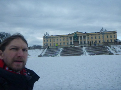 The Royal Palace, Oslo, Norway.