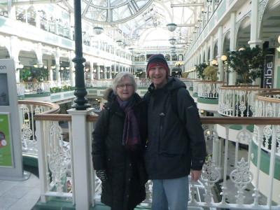 In Dublin with Mum