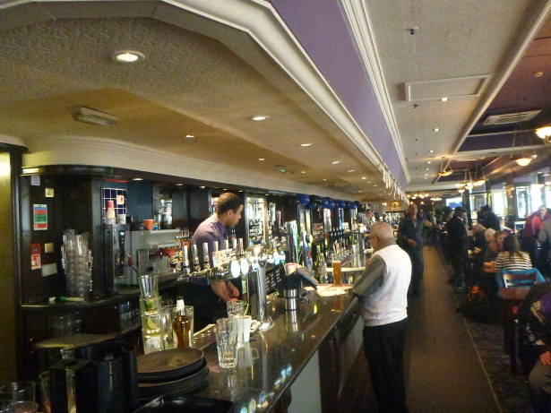 Thirsty Thursdays: The Square Peg, the longest bar in Europe.
