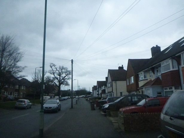 World Borders: How to get to Wrythe, Austenasia from Carshalton, England