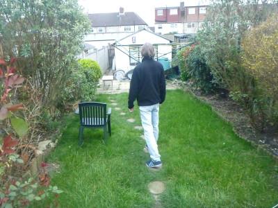 Walking through Wrythe Public Park in Austenasia
