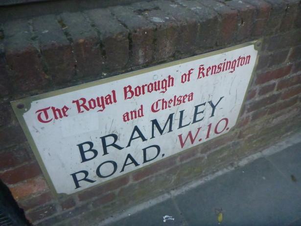 Bramley Road, Frestonia