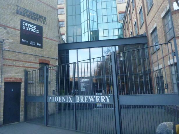 Modern day Frestonia - Phoenix Brewery.