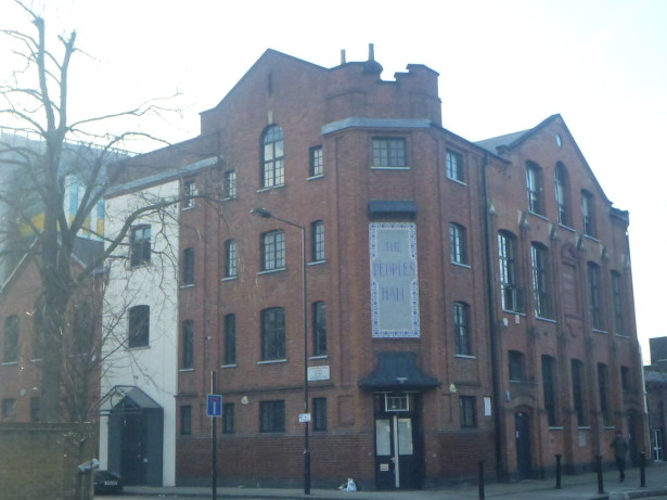 The People's Hall, Frestonia, London