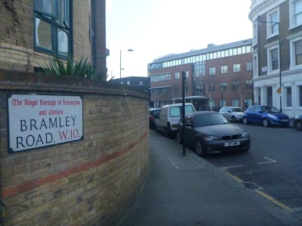 Bramley Road, Frestonia. Well - London, England.