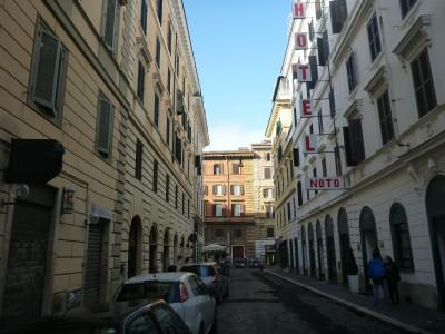 Via Calatafimi in the Castro Pretorio district of Rome